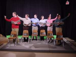 Graduate students at the University of Kentucky perform a scene from